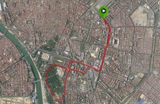Seville running