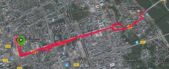 Warsaw running